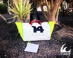 LAJARES - Lightweight and super durable shopping bag. #Rewave_lab #handbag #kitesail #recycled #upcycled #accessories #bags #fashion #kite #surf #style
