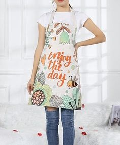 Inspired by nature and life. Christmas Deals, Christmas Gifts, Cartoon Bee, Bee Movie, Adult Children, Cotton Linen, Valentine Gifts, Apron, Kitchen