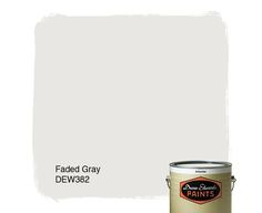 Dunn-Edwards Paints paint color: Faded Gray DEW382   Click for a ...