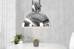 Visiaca lampa LIGHT FABRIK 40 cm - chromová