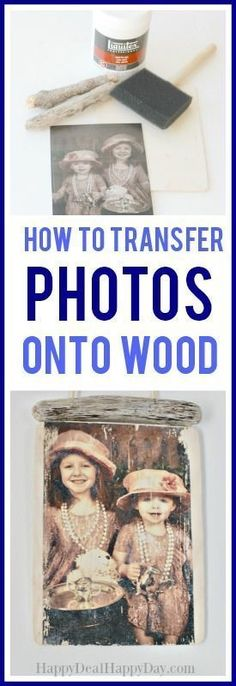 how to transfer photos onto wood - using gel medium and mod podge to make this vintage style photo transfer DIY photo gift idea Picture Transfer To Wood, Picture On Wood Diy, Mod Podge Photo Transfer, Picture Frames, Photo Onto Wood, Sims, Look Vintage, Diy Photo, Homemade Gifts