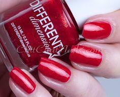 Different Dimension – Valentine's Day 2015 | ChitChatNails