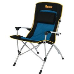 Rokk Comfort Adjust Oversided Hard Arm Folding Chair (Black/Blue) by ROKK, http://www.amazon.com/dp/B004K6BA4A/ref=cm_sw_r_pi_dp_2uswqb1AR16AD