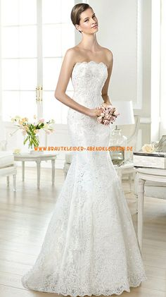 Brautkleider für Mollige 2014 aus Spitze