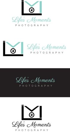 Life's Moments :: Photography Logo on Behance #pzcreative #logo #logodesign