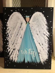Pin by Michael Kruppa on Weihnachten Christmas Canvas, Christmas Paintings, Christmas Art, Tole Painting, Painting & Drawing, Angel Crafts, Pallet Art, Angel Art, Pictures To Paint