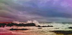 Stormy sky and sea.  I can sit and watch for hours #blouberg #lovecapetown #home