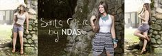 Dale un aire de romanticismo  a tu outfit. www.ndas.co