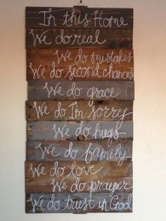 In this Home Wooden Sign by aubdaydesigns on Etsy