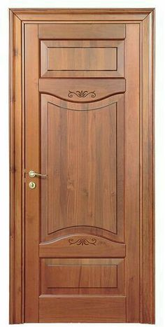 Ideas Wooden Main Door Modern Home Wooden Front Door Design, Door Gate Design, Bedroom Door Design, Door Design Interior, Interior Doors, Bedroom Doors, Fence Design, Modern Wooden Doors, Modern Front Door