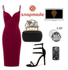 """""""5#snapmade/2"""" by comicdina ❤ liked on Polyvore featuring Liliana, Alexander McQueen and Samsung"""