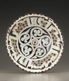 Smithsonian : Bowl century Samanid period Earthenware painted under glaze Ceramic Decor, Ceramic Plates, Ceramic Pottery, Pottery Art, Antique Plates, Antique Pottery, Blue Pottery, Pottery Ideas, Decorative Plates