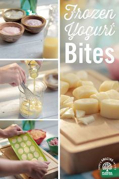 Combine your favorite yogurts with some Florida Orange Juice to make freezable yogurt snacks that�ll cool off even the hottest days! Check out our website for more recipes and great DIY ideas!