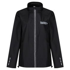 Perfect for cold, wet or dim conditions, our unisex Reflective Windbreaker Running Jackets have landed! Made from lightweight Polyester fabric, they're showerproof, windproof and super stylish. Reflective detail on the zip, cuffs, back of the neck and Tikiboo logos keeps you safe and seen out on the roads.  The curved drop hem with drawcord adds extra protection from splashes, and we've also included handy front zipped pockets and opening for headphone cord feed. Running Jacket, Workout Tops, Roads, Cuffs, Windbreaker, Drop, Pockets, Unisex, Detail