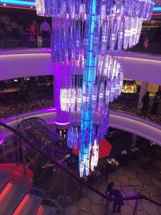The Lobby on Norwegian Getaway