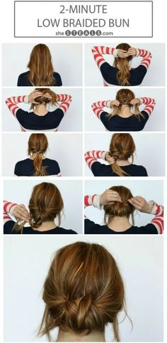 25 #Becoming Ways to Wear a Bun ...