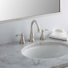 Delta Porter 8 in. Widespread Bathroom Faucet with Metal Drain Assembly. Delta Porter 8 i