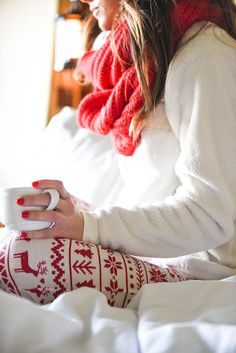 CHRISTMAS PAJAMAS WITH NORDSTROM | Sequins & Things