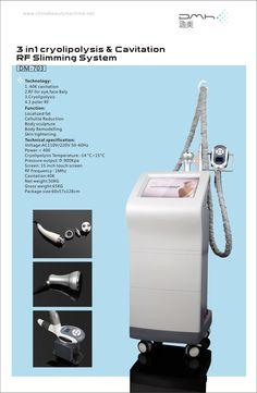 Cryo handle cavitation RF