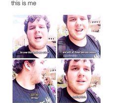 me whenever i see anyone tbfh