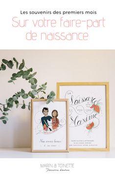 42 Meilleures Images Du Tableau Faire Part De Naissance En 2019