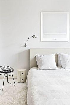 Modern white bedrooms inspiration