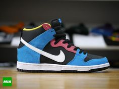 new product ec625 d395b As part of its January collection, Nike Skateboarding is releasing a Dunk  Hi SB with color inspiration from Bazooka Joe gum and comics.