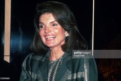 NEW YORK, NY – CIRCA 1984: Jacqueline Kennedy Onassis circa 1984 in New York City. (Photo by Sonia Moskowitz/IMAGES/Getty Images)