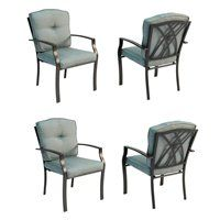 Cascade Creek Stackable Patio Dining Chairs (Set of 4)