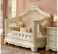 Venezia Convertible Crib by Creations Baby Furniture