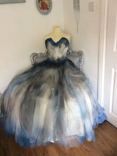 A personal favourite from my Etsy shop https://www.etsy.com/uk/listing/548631260/halloween-corpse-bride-costume-sz