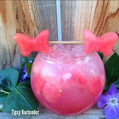 Hello Kitty - For more delicious recipes and drinks, visit us here: www.tipsybartender.com