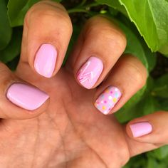 Easter nails, bunny nails , spring nails