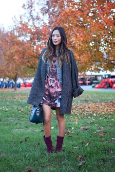 Song of Style: Autumn Reds