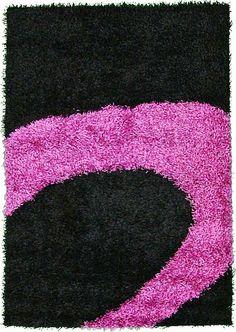 black 4u0027 7 x 6u0027 7 multitone shag rug area rugs