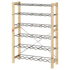 IVAR 1 Element/Flaschenbord - Kiefer, grau - IKEA Deutschland Billy Oxberg, Solid Pine, Solid Wood, Stock Room, Recycling Facility, Ikea Family, Bottle Rack, Round Bar, Painted Furniture