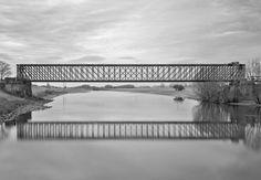 Pedestrian Bridge, Thesis, Porn, Landscape, Metal, Nature, Life, Design, Architecture
