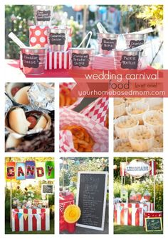 wedding carnival food part one