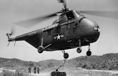 Sikorsky h 19c helicopter korean war ...My father's office!