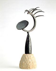 Julio Gonzalez, Tête au miroir, 1934