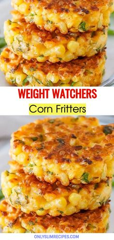 These easy Corn Fritters are sweet and delicate, and they're a great way to use fresh sweet corn once the thrill of eating fresh corn . Food Recipes For Dinner, Food Recipes Keto Ww Recipes, Cooking Recipes, Recipes With Corn, Sweet Corn Recipes, Points Plus Recipes, Recipes Dinner, Summer Recipes, Dinner Ideas, Gourmet