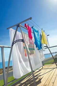 For over 60 years Hills clotheslines have been a household name in Australia. The Portable 170 provides the line drying convenience that folds flat and hangs on a door when not in use. Can use indoors and out so no excuses - you can line dry anytime!