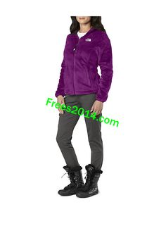 The North Face Osito Jacket Womens Premiere Purple The North Face, Jackets  For Women, 2510273a5f3a