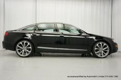 Audi A6 (C6) with 20-inch C7 factory wheels., Find of the Day: OE+ 2011 Audi A6 3.0 TFSI