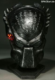 Alien vs. Predator: Wolf Predator Helm, Fertig-Modell ... http://spaceart.de/produkte/avp003.php
