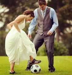 Soccer wedding ⚽❤
