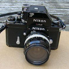 Nikon F camera.