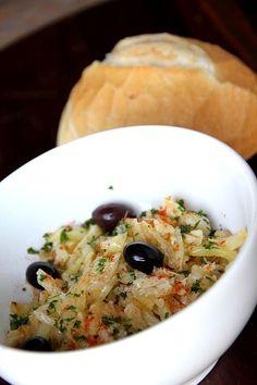 Bacalhau à Brás, prato de Gustavo Araújo na Feirinha Gastronômica (Foto: Divulgação)