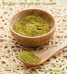Comment préparer un bouillon de légumes maison, déshydraté, sans sel et prêt à l'emploi ? A utiliser pour la cuisson des céréales, des pâtes, des légumes...
