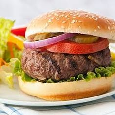 Lipton Onion Burgers Recipe Main Dishes, Lunch with Lipton® Recipe Secrets® Onion Soup Mix, lean ground beef, water recipes beef main dishes Lipton Onion Burgers Recipe Onion Soup Hamburger Recipe, Lipton Onion Burger Recipe, Lipton Onion Soup Recipes, Juicy Burger Recipe, Best Hamburger Recipes, Lipton Onion Soup Mix, Onion Recipes, Ground Beef Recipes, Wrap Recipes